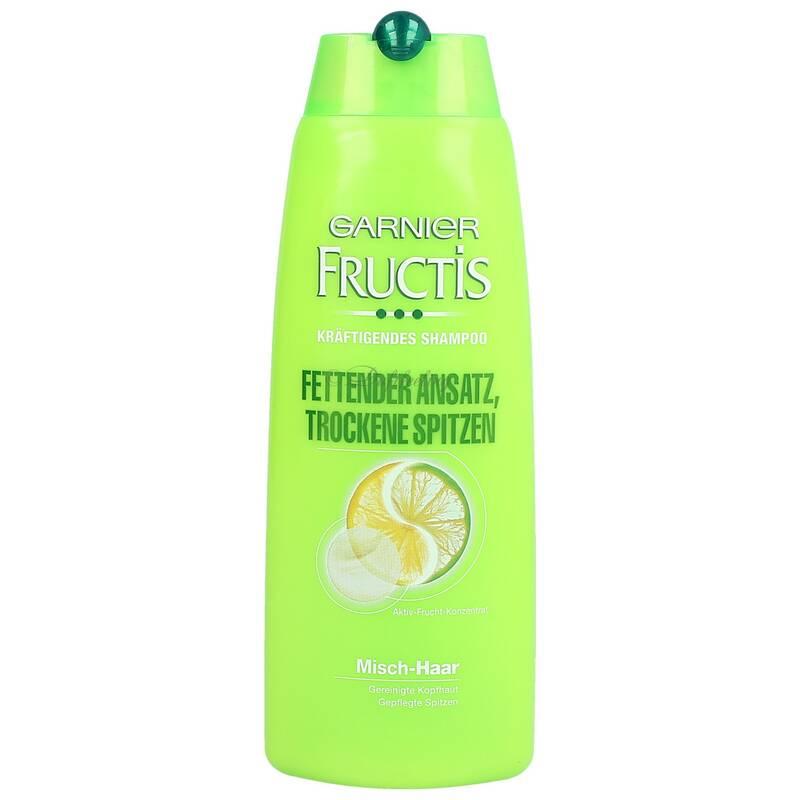 Garnier Fructis Kräftigendens Shampoo Fettender Ansatz Trockene