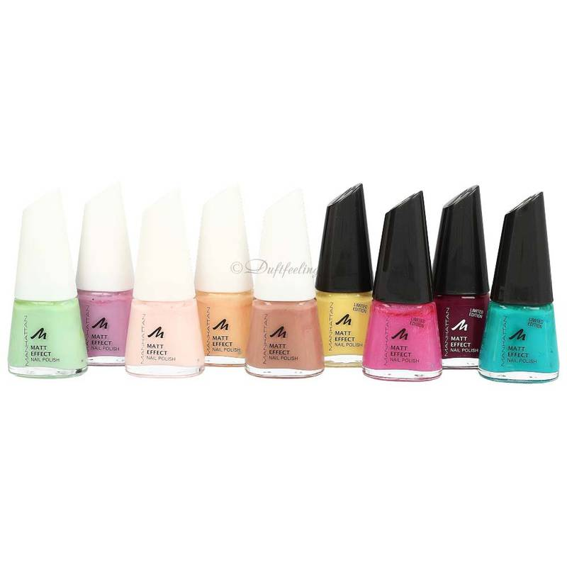Manhattan Matt Effect Nail Polish 11 ml ***Farbauswahl***