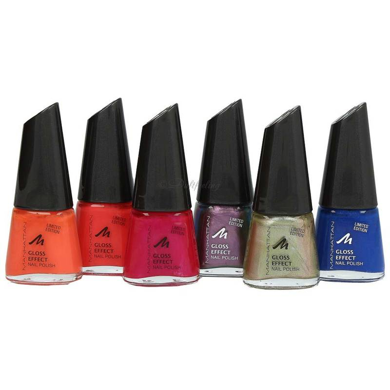 Manhattan Gloss Effect Nail Polish 11 ml ***Farbauswahl***