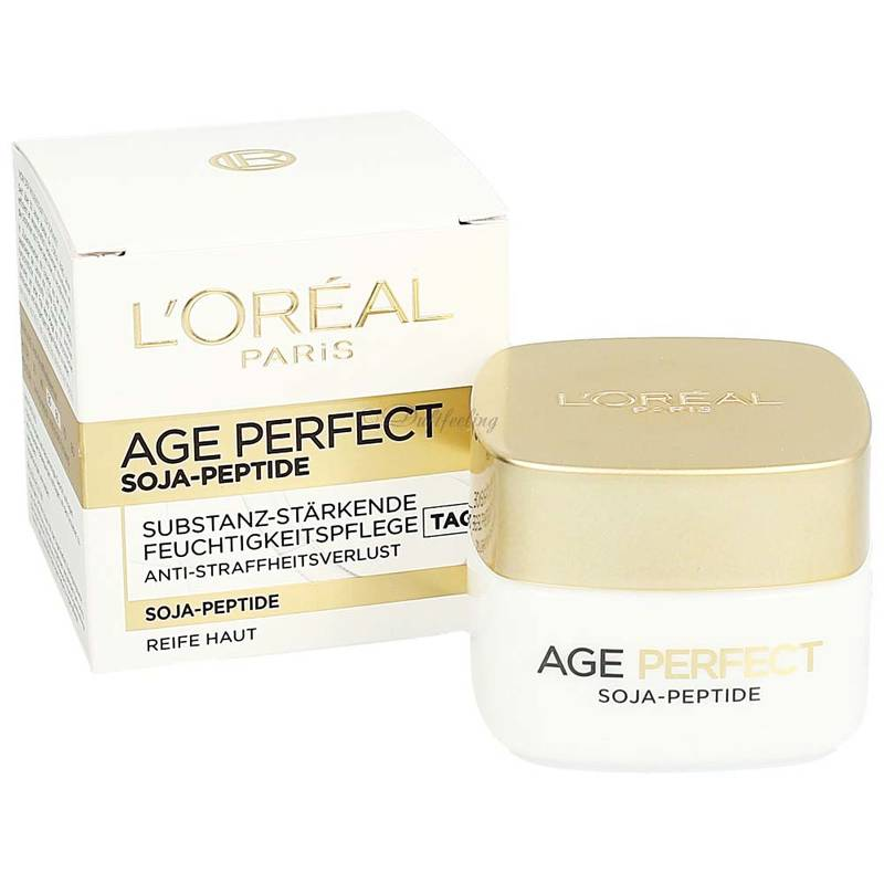 Loréal Age Perfect Soja-Peptide Tagespflege 50 ml