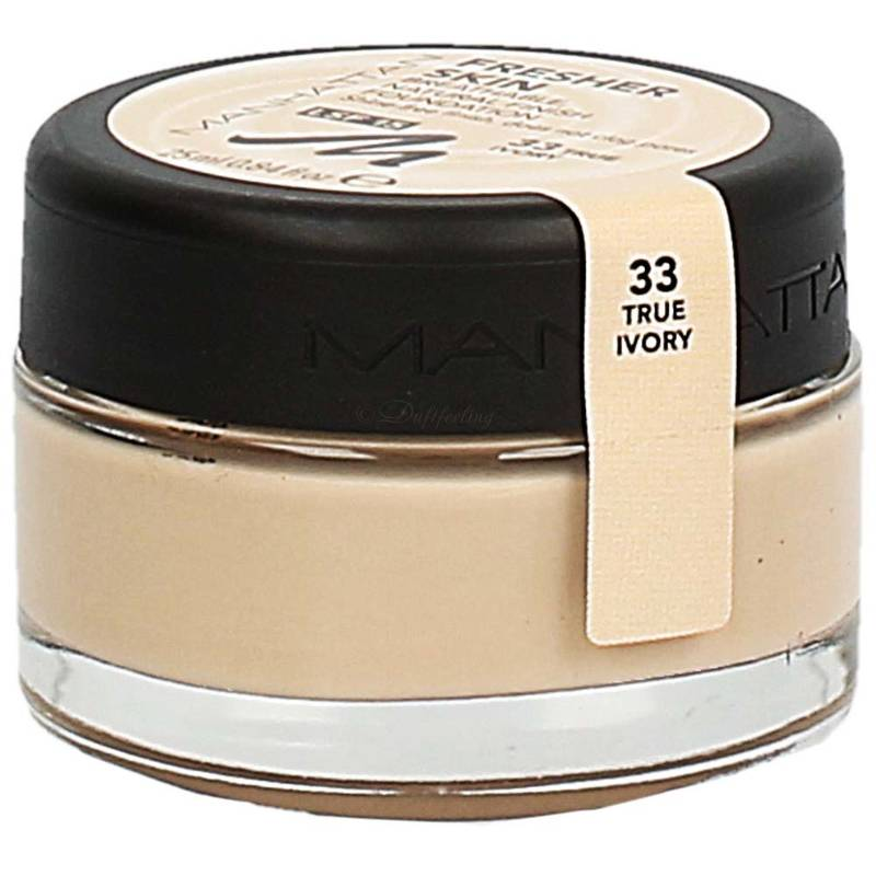 Manhattan Fresher Skin Foundation 33 True Ivory