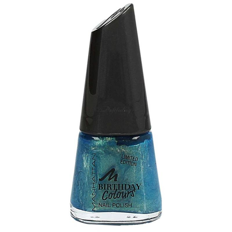 Manhattan Birthday Colours Nail Polish 11 ml 011 Aquamania