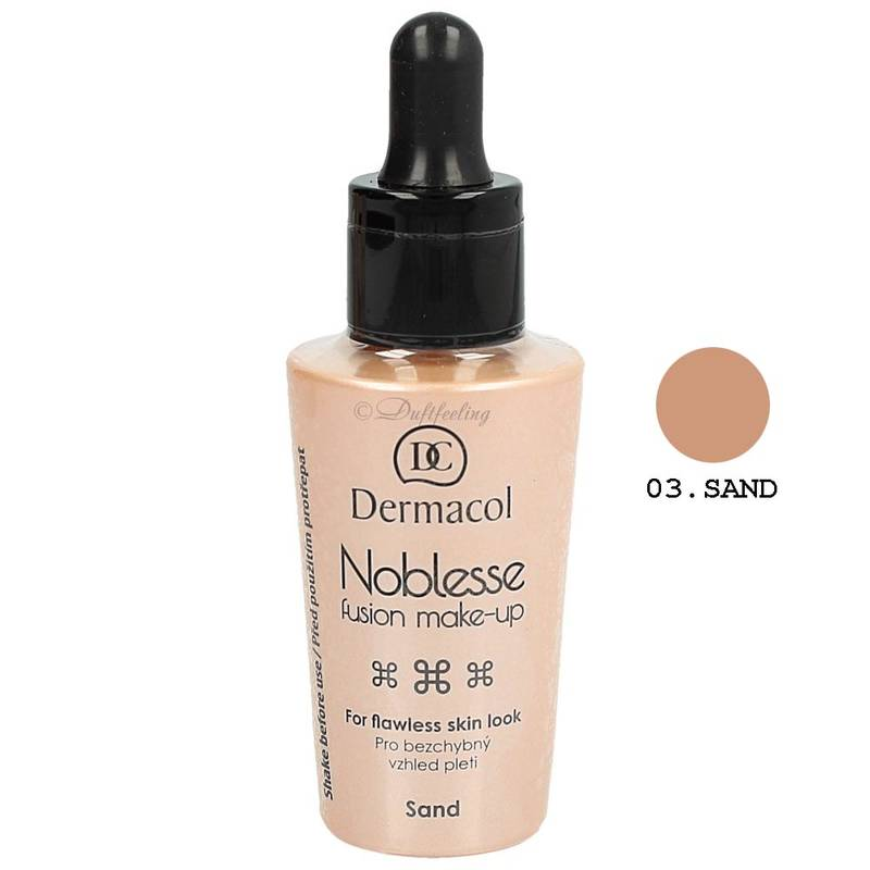 Dermacol Noblesse Fusion Make-Up 25 ml 3 Sand