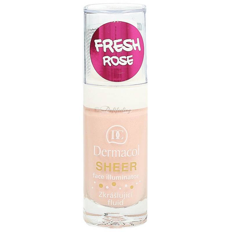 Dermacol Sheer Face Illuminator Fresh Rose 15 ml