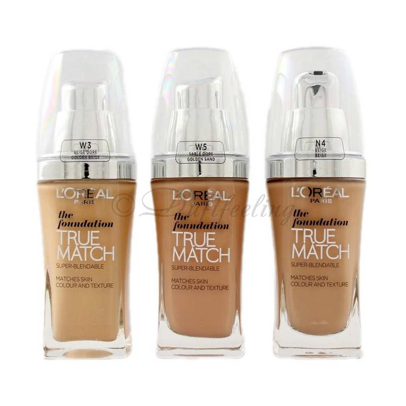 Loréal the foundation true match **Farbauswahl**