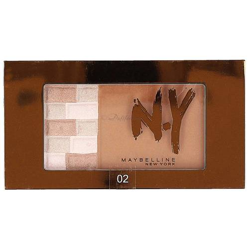 Maybelline NY Bricks Bronzer 02 Brunettes 7 g