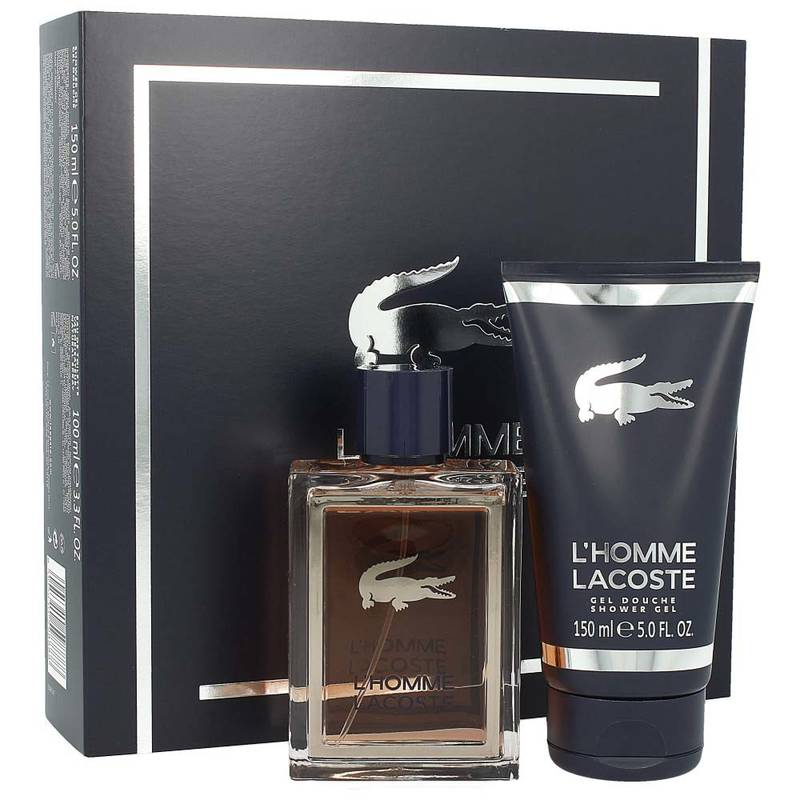 Lacoste LHomme Set EdT 100 ml + Shower Gel 150 ml
