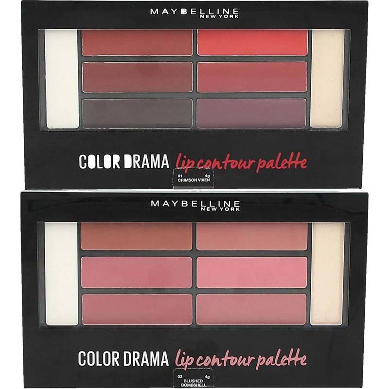 Maybelline Color Drama Lip Contour Palette 4 g  ***Farbauswahl***