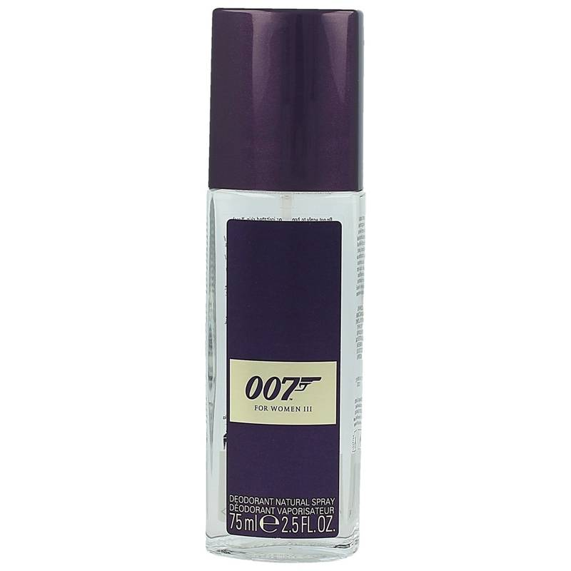 James Bond 007 For Women III Natural Deo Spray 75 ml