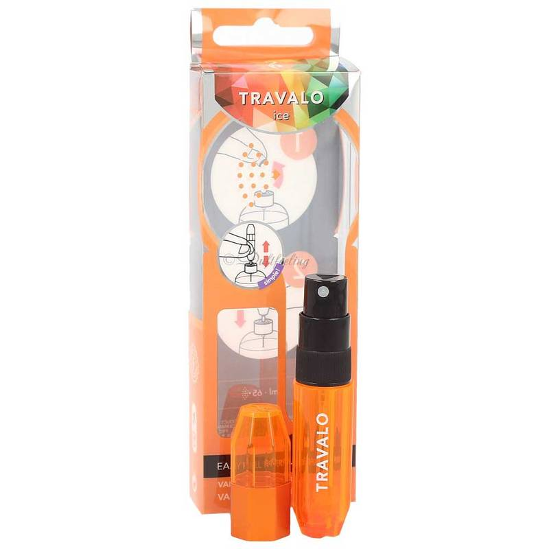 Travalo Ice Parfümzerstäuber Orange 5 ml