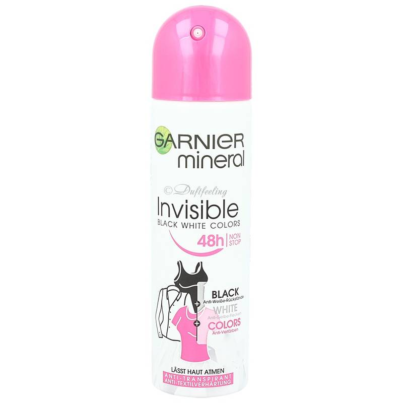 Garnier Mineral Invisible 48h Deodorant 150 ml