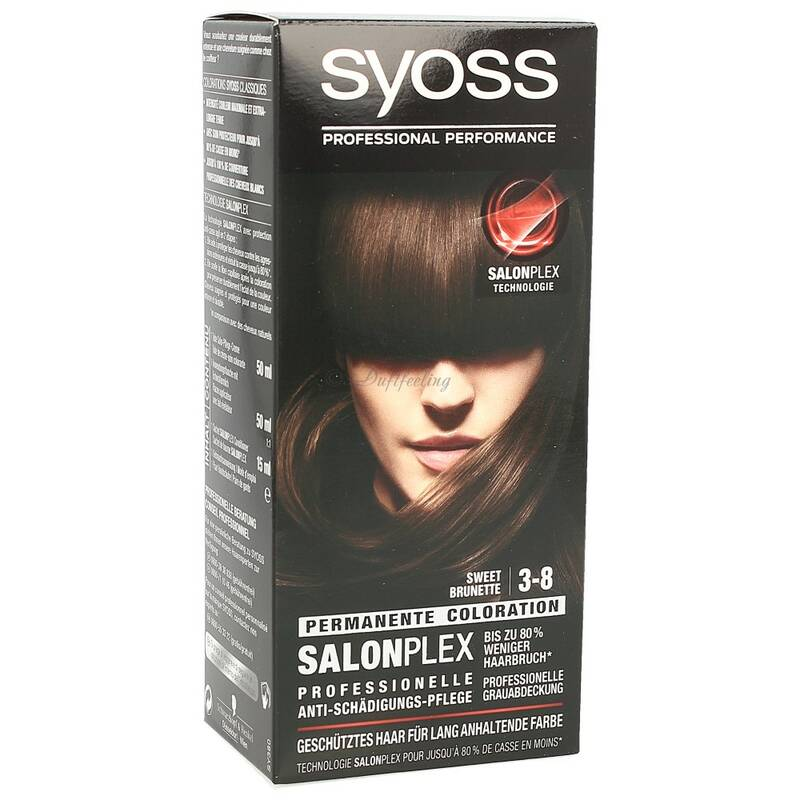 Syoss Permanente Coloration 3-8 Sweet Brunette