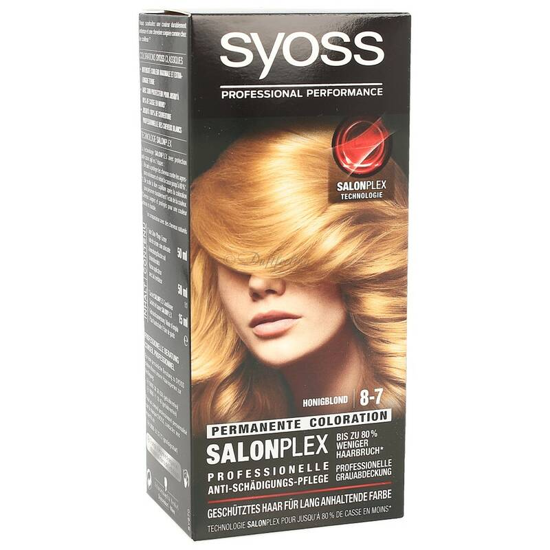 Syoss Permanente Coloration 8-7 Honigblond