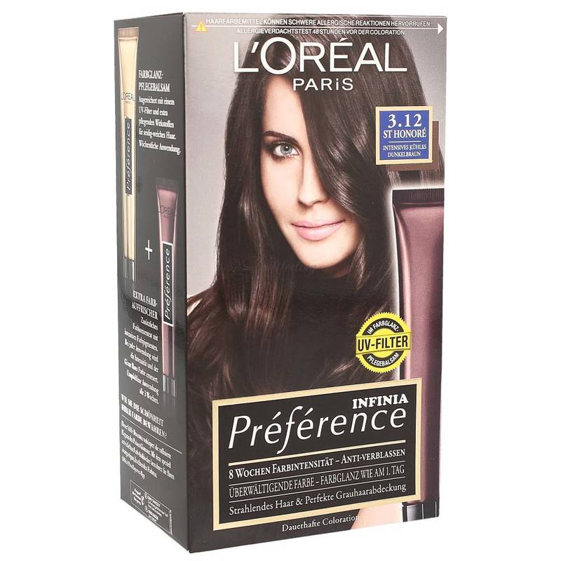 LOreal Infinia Preference 3.12 St Honoré Intensives Kühles Dunkelbraun