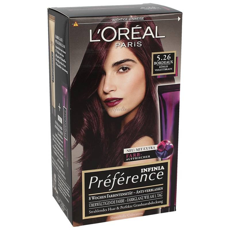 LOreal Preference Infinia Bordeaux 5.26