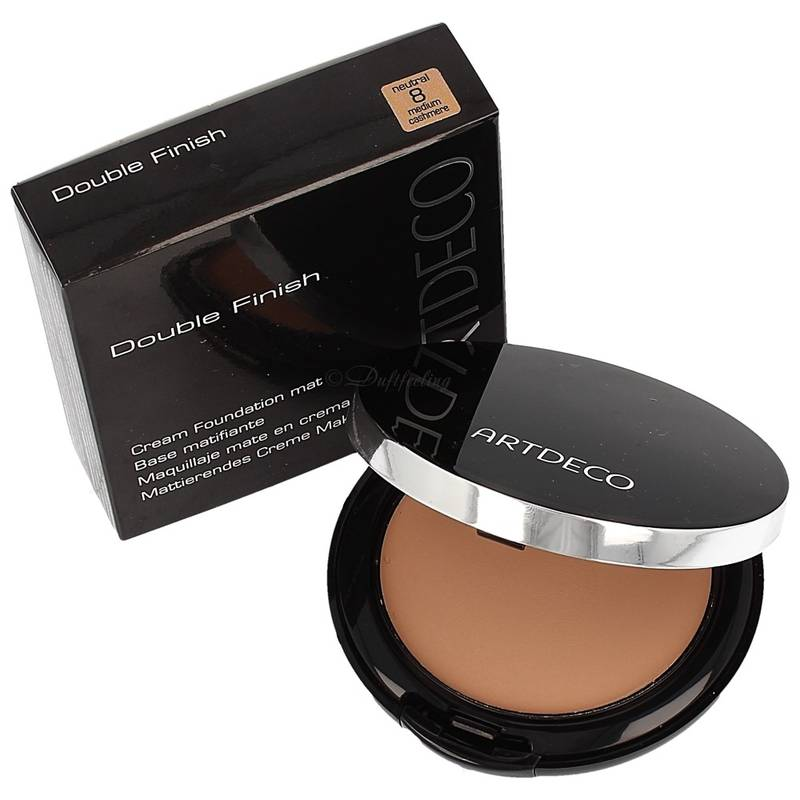Artdeco Mattierendes Creme Make up 8 neutral medium cashmere mit Innenspiegel