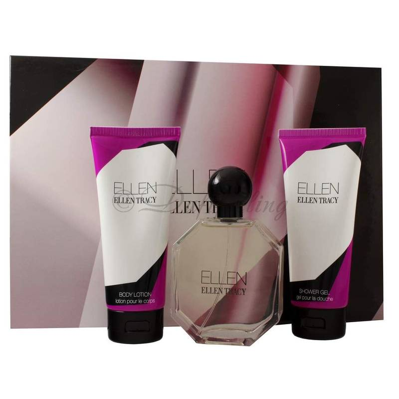 Ellen Tracy ELLEN Edp 100 ml + Body Lotion 100 + Shower Gel 100 ml Set
