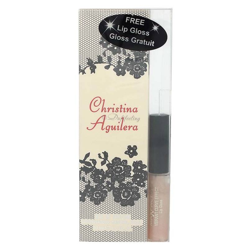 Christina Aguilera  Edp 30 ml + Lip Gloss Max Factor Gratis