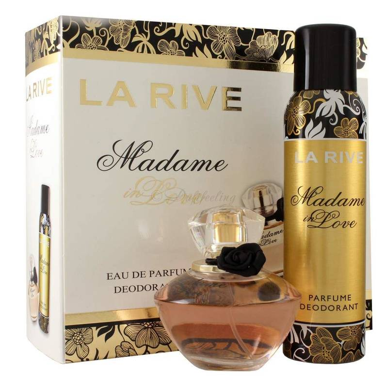 La Rive Madame in Love Edp 90 ml + Deodorant 150 ml Set