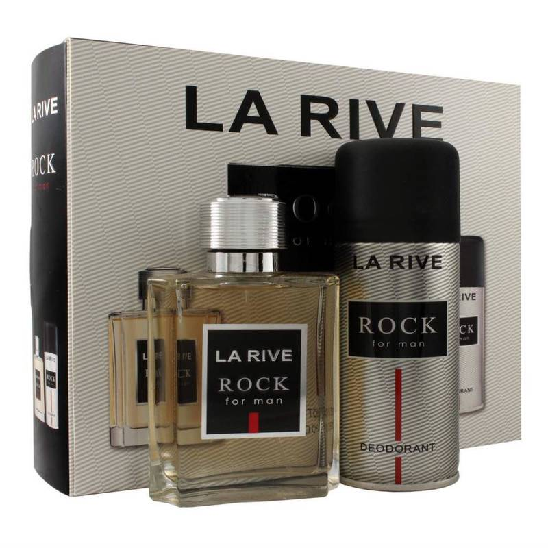 La Rive Rock For Man Edt 100 ml + Deodorant 150 ml Set