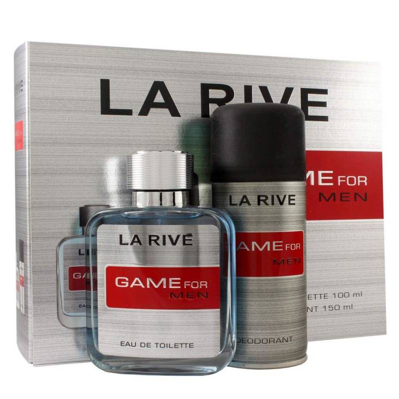 La Rive Game For Men Edt 100 ml + Deodorant 150 ml Set