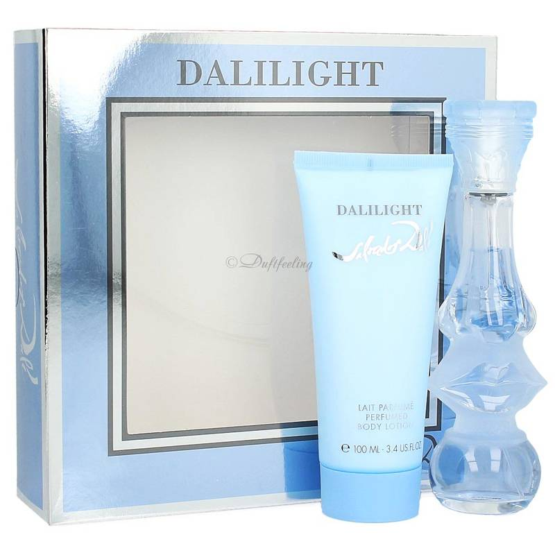 Salvador Dali Dalilight Edt 50 ml + Body Lotion 100 ml Set