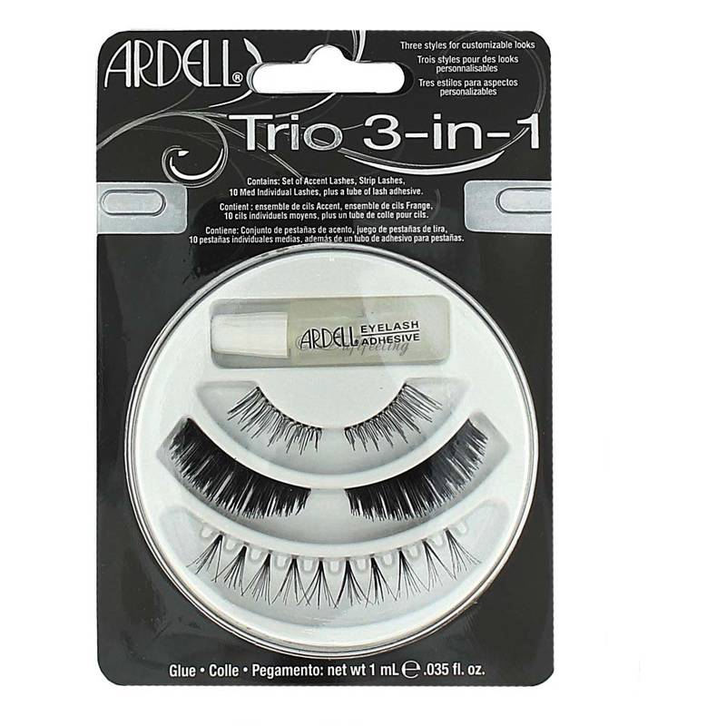 Ardell Falsche Wimpern Set Trio 3-in-1