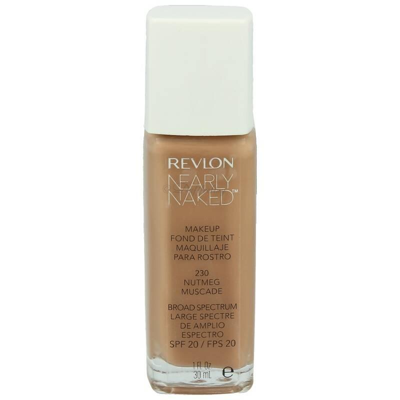 Revlon Nearly Naked Make-up 30 ml 230 Nutmeg