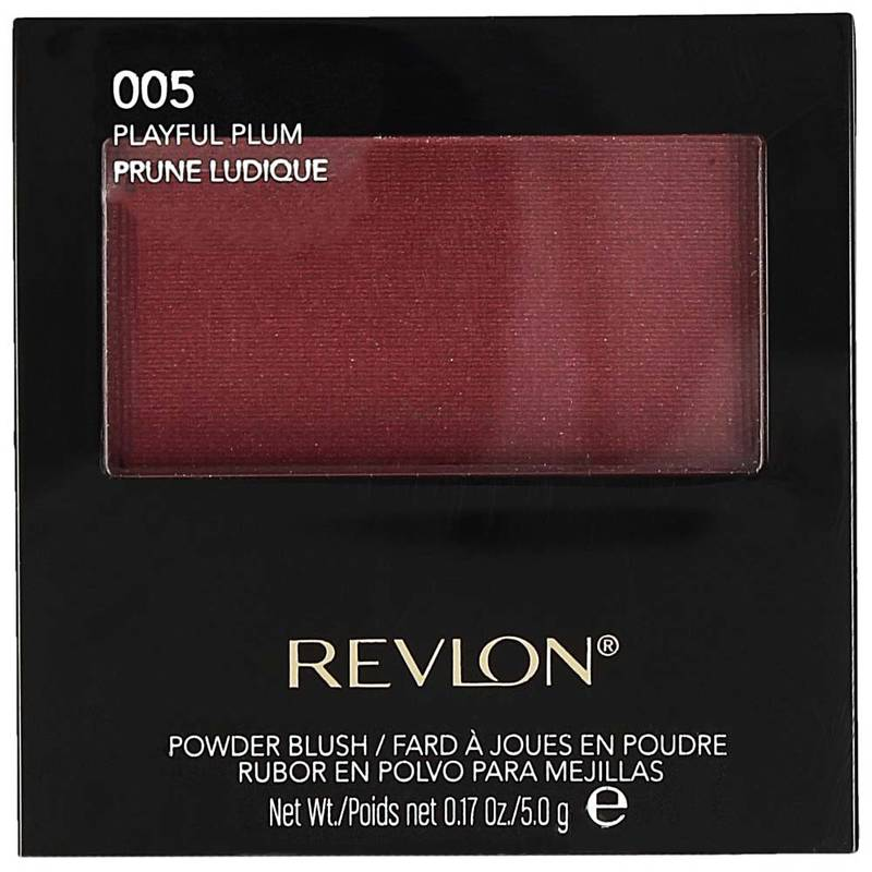 Revlon Powder Blush with Brush 005 Playful Plum 5g