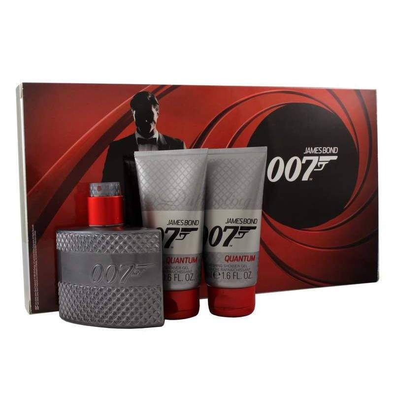 James Bond 007 Quantum Edt 50 ml + 2 x Shower Gel 50 ml Set