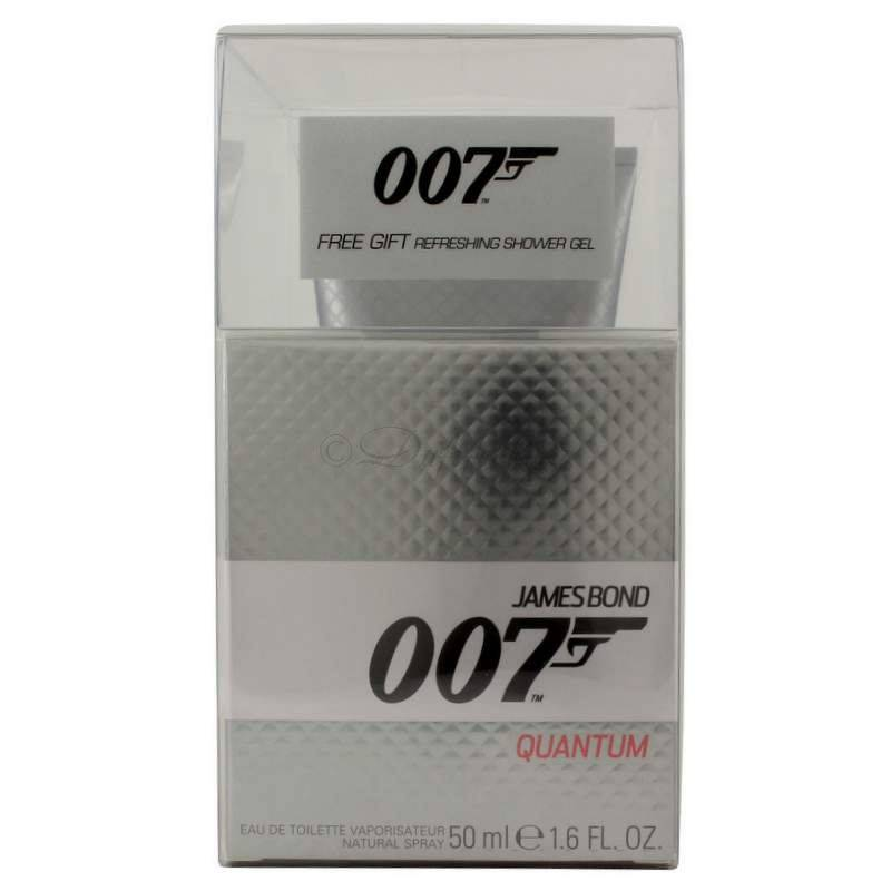 James Bond 007 Quantum Edt 50 ml + Shower Gel 150 ml Setbox