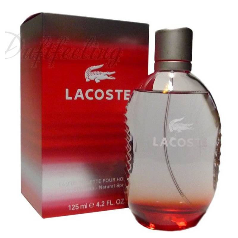 Lacoste Red Style in Play Edt 125 ml