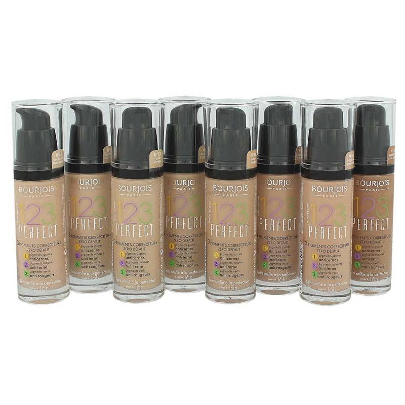 Bourjois 123 Perfect Foundation *Farbauswahl* 30 ml