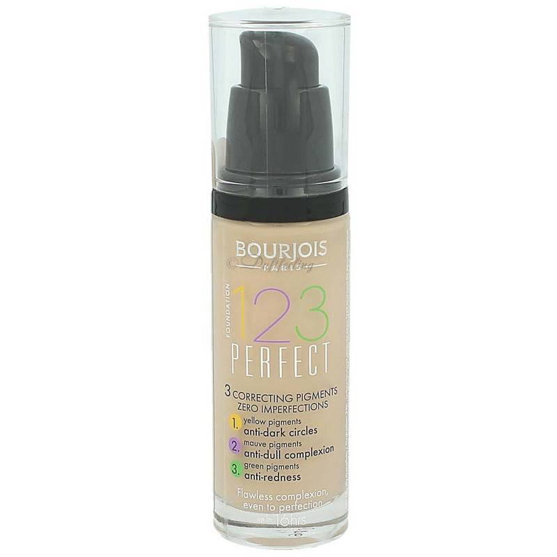 Bourjois 123 Perfect Foundation 30 ml 52 Vanilla