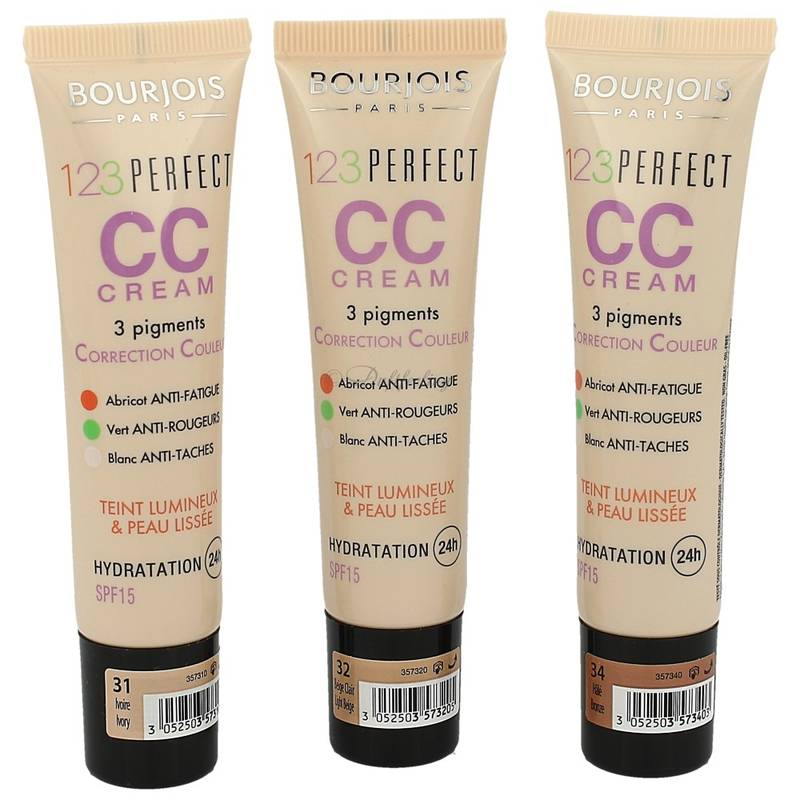 Bourjois 123 Perfect CC Cream *Farbauswahl* 30 ml
