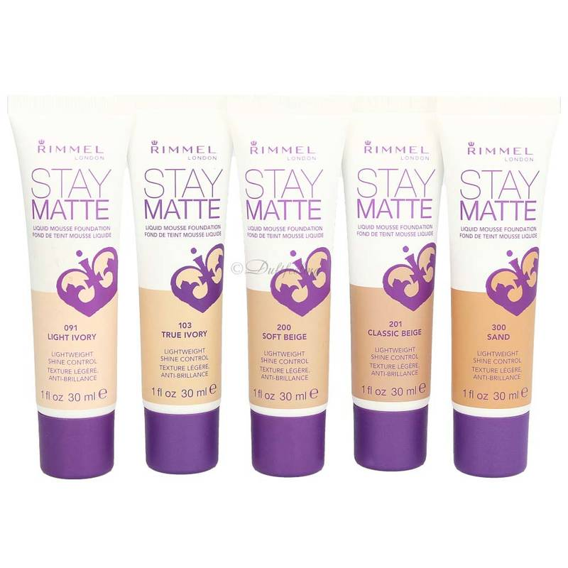 Rimmel Stay Matte Liquid Mousse Foundation *Farbauswahl* 30 ml