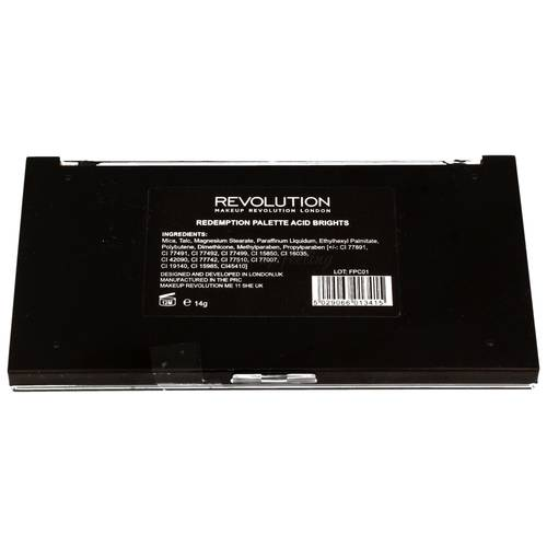 Makeup Revolution Redemption Palette Acid Brights