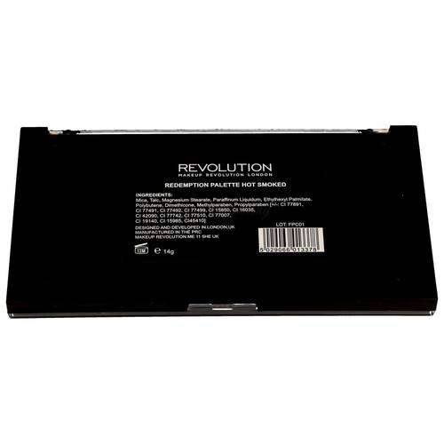 Makeup Revolution Redemption Palette Hot Smoked