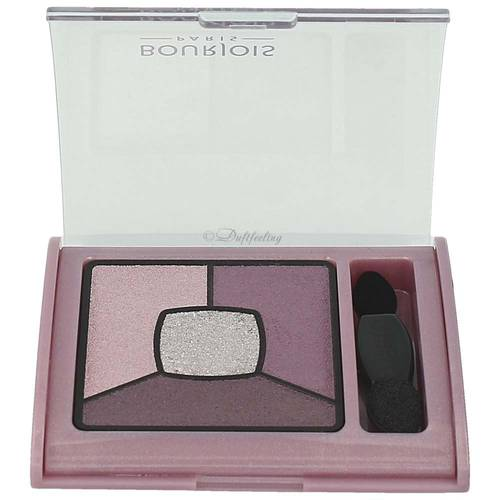 Bourjois Quad Smoky Stories Eyeshadow Palette 07 In Mauve