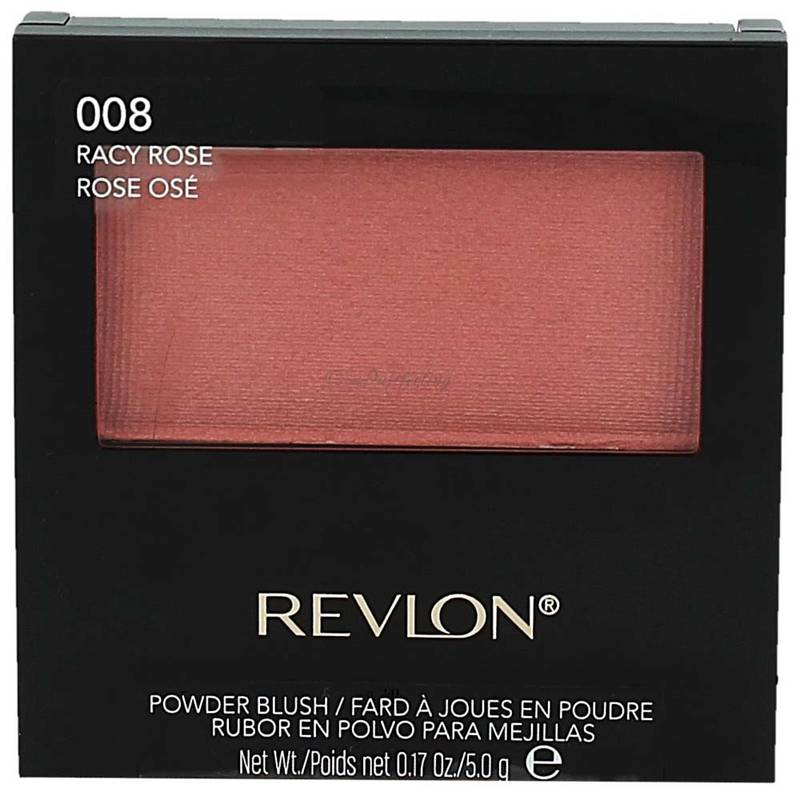 Revlon Powder Blush with Brush 008 Racy Rose 5g