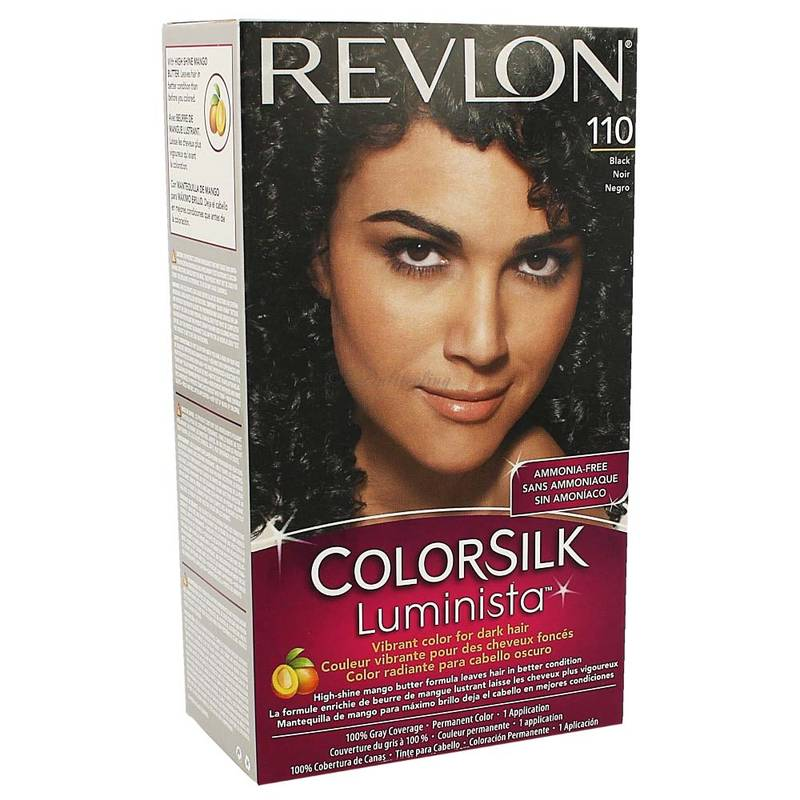 Revlon Colorsilk Luminista Haarfarbe 110 Black