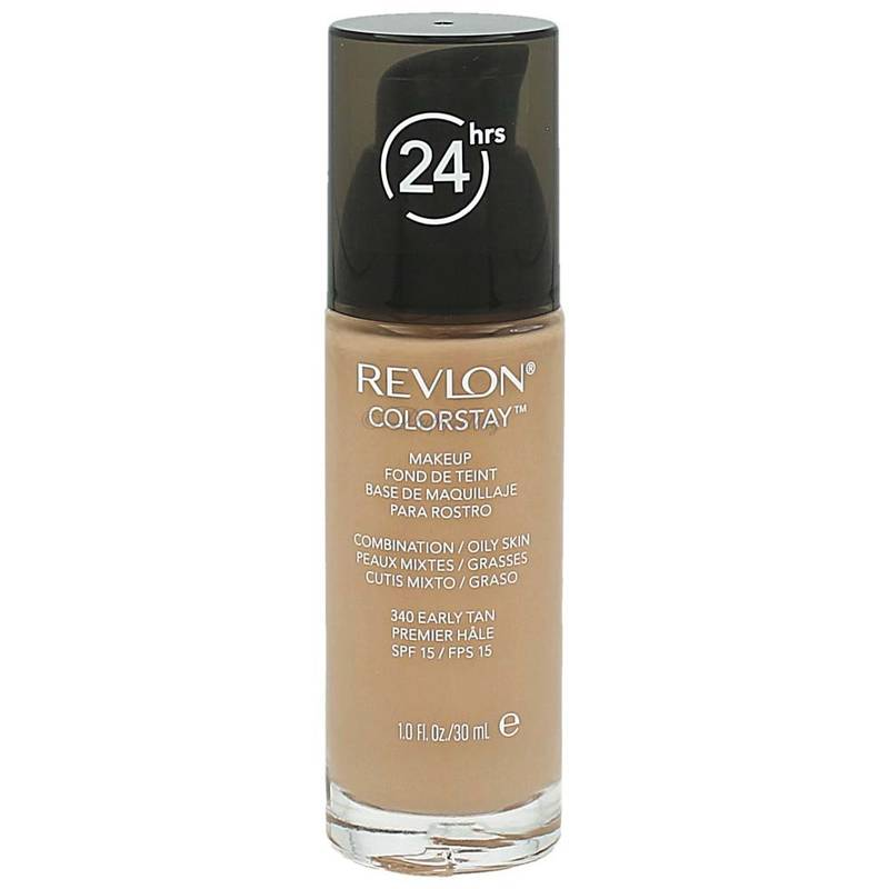 Revlon ColorStay Make-up combi/oily Skin mit Pumpe 340 Early Tan