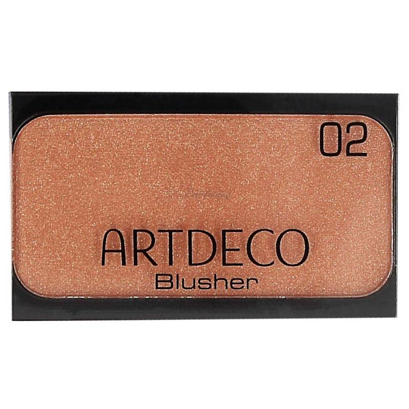 Artdeco Blusher 02 Deep Brown Orange