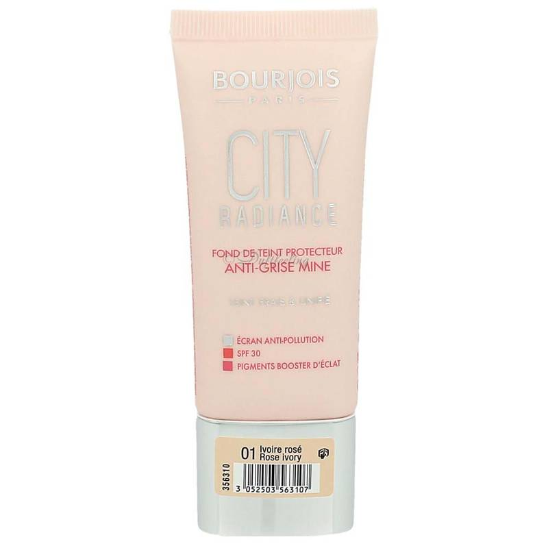 Bourjois City Radiance Foundation 01 Rose Ivory 30 ml