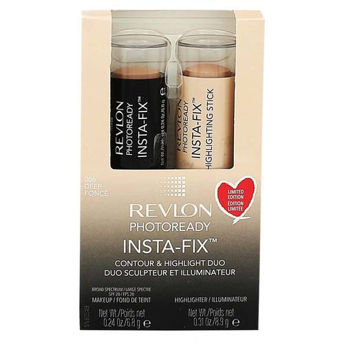 Revlon Photoready Insta-fix Duo Set 006 Deep