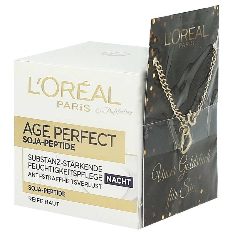 Loréal Age Perfect Soja-Peptide Nachtpflege 50 ml