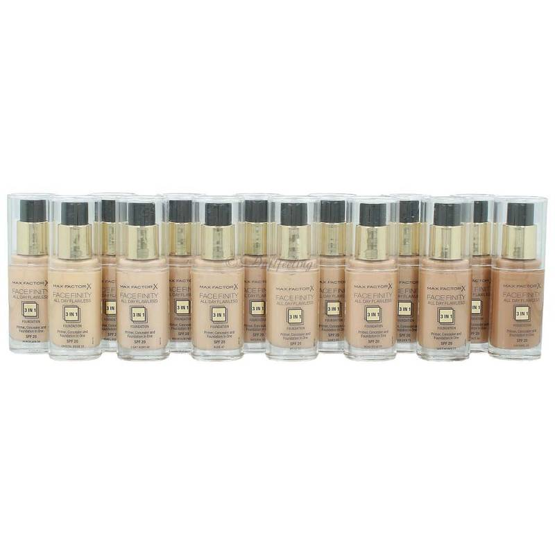 Max Factor Facefinity 3in1 Foundation ***Farbauswahl***