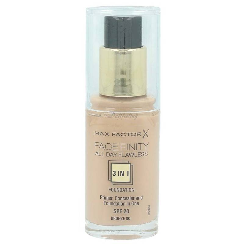 Max Factor Facefinity 3in1 Foundation 80 Bronze