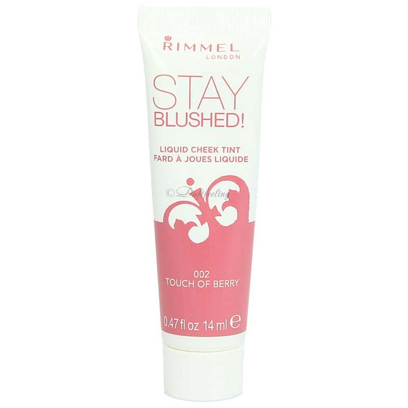 Rimmel Stay Blushed! 002 Touch Of Berry 14 ml
