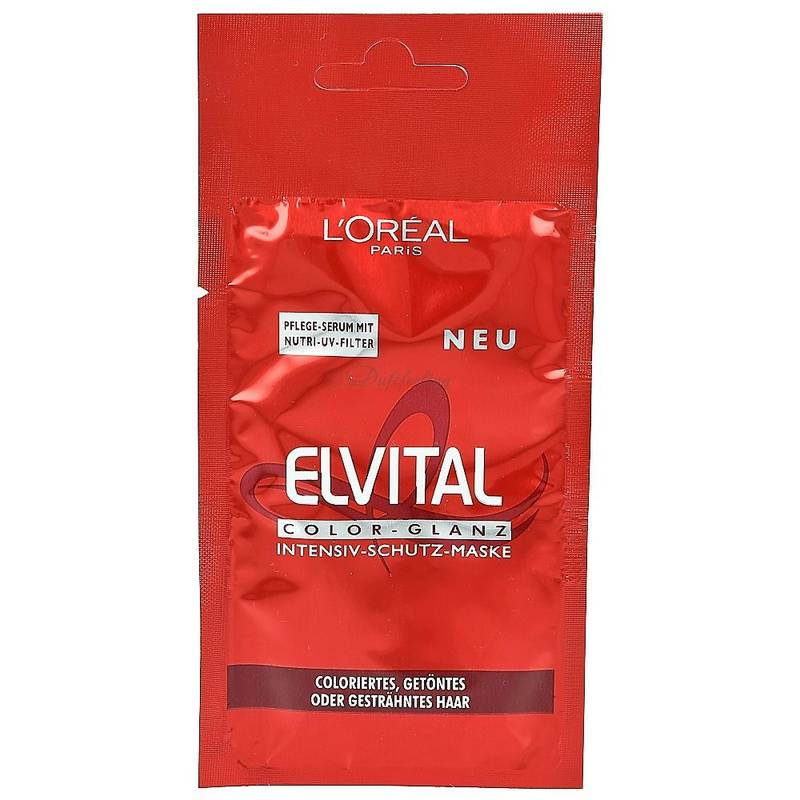 LOréal Paris Elvital Intensiv-Schutz Maske Color Glanz 20 ml